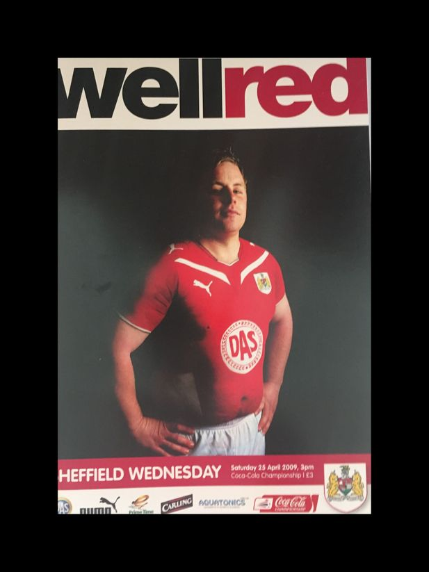 Bristol City v Sheffield Wednesday 25-04-2009 Programme