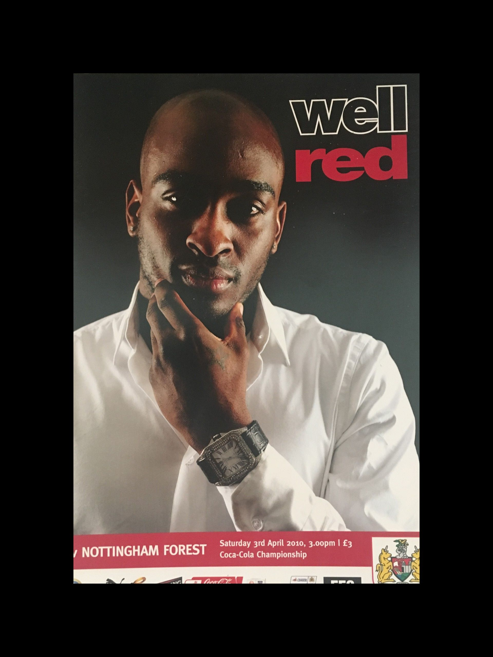 Bristol City v Nottingham Forest 03-04-2010 Programme