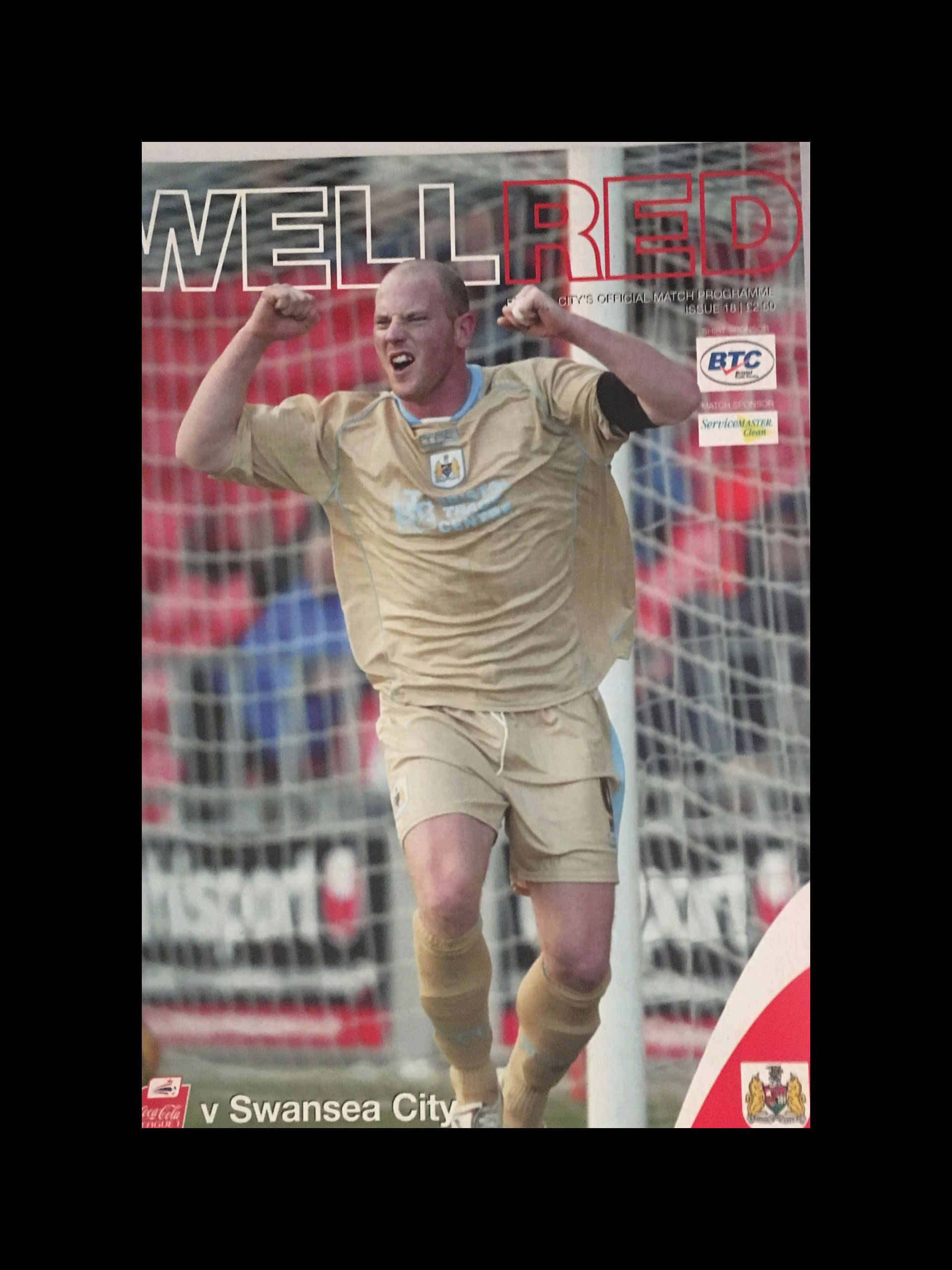 Bristol City v Swansea City 28-01-2006 Programme