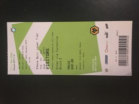 Wolves v Bristol City 25-01-2014 Ticket