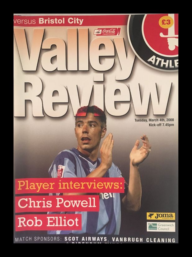Charlton Athletic v Bristol City 04-03-2008 Programme