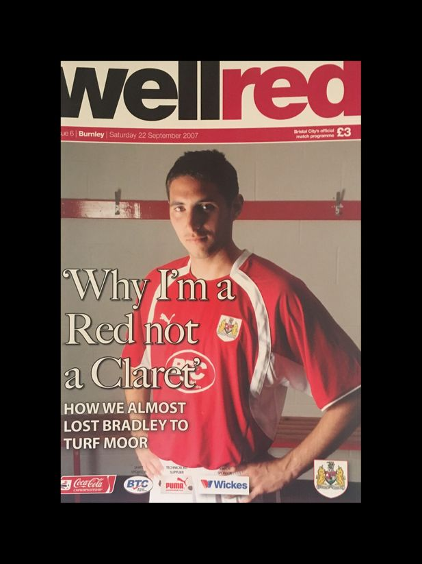 Bristol City v Burnley 22-09-2007 Programme