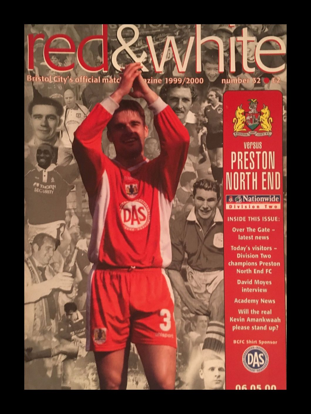 Bristol City v Preston North End 06-05-2000 Programme
