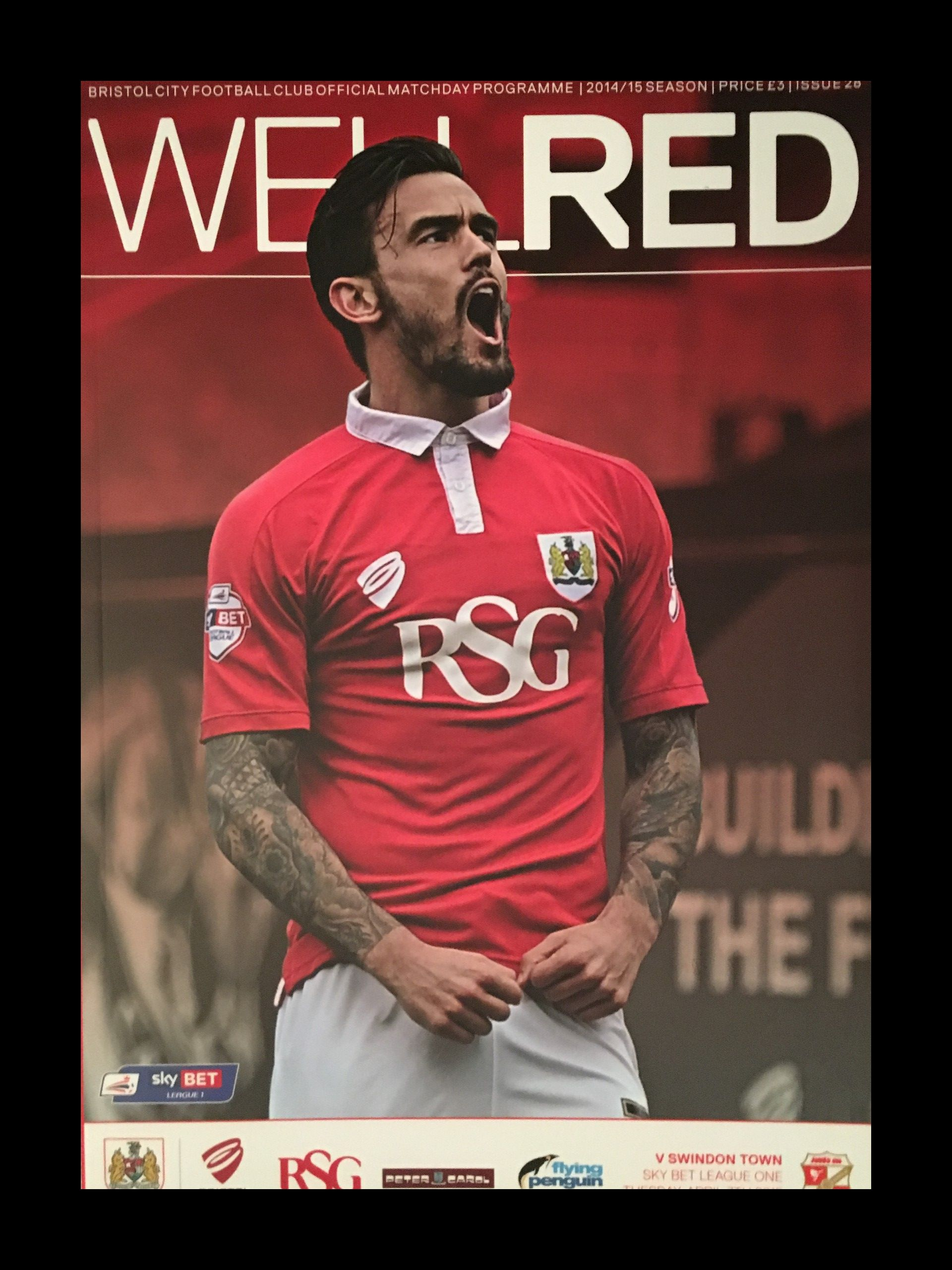 Bristol City v Swindon Town 07-04-2015 Programme