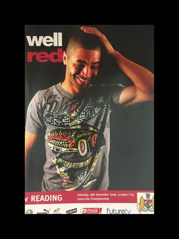 Bristol City v Reading 19-12-2009 Programme