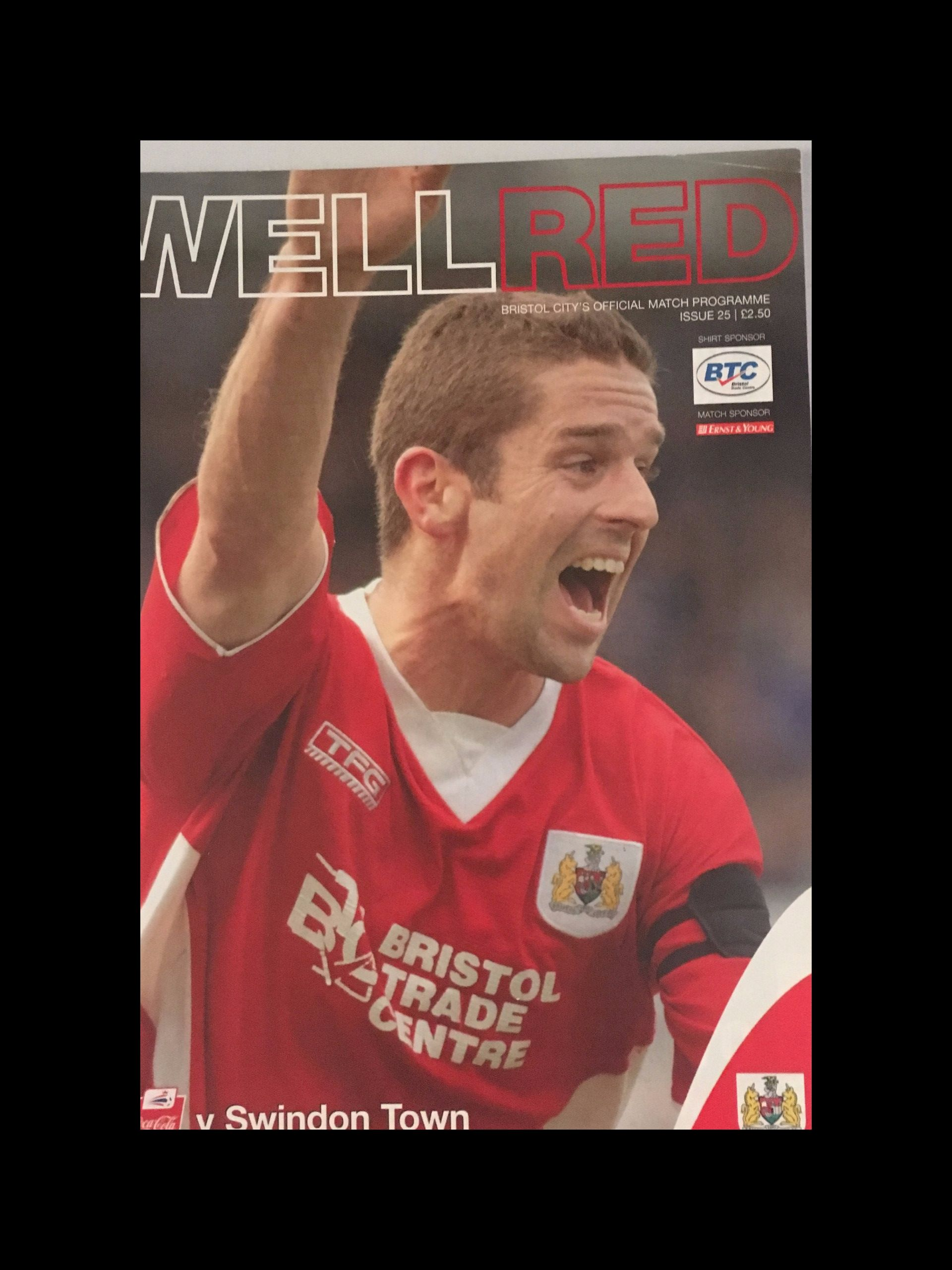 Bristol City v Swindon Town 29-04-2006 Programme