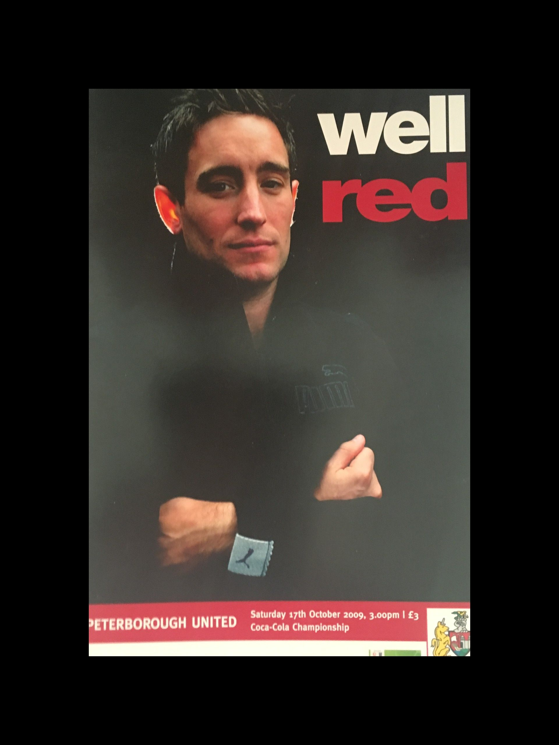 Bristol City v Peterborough United 17-10-2009 Programme