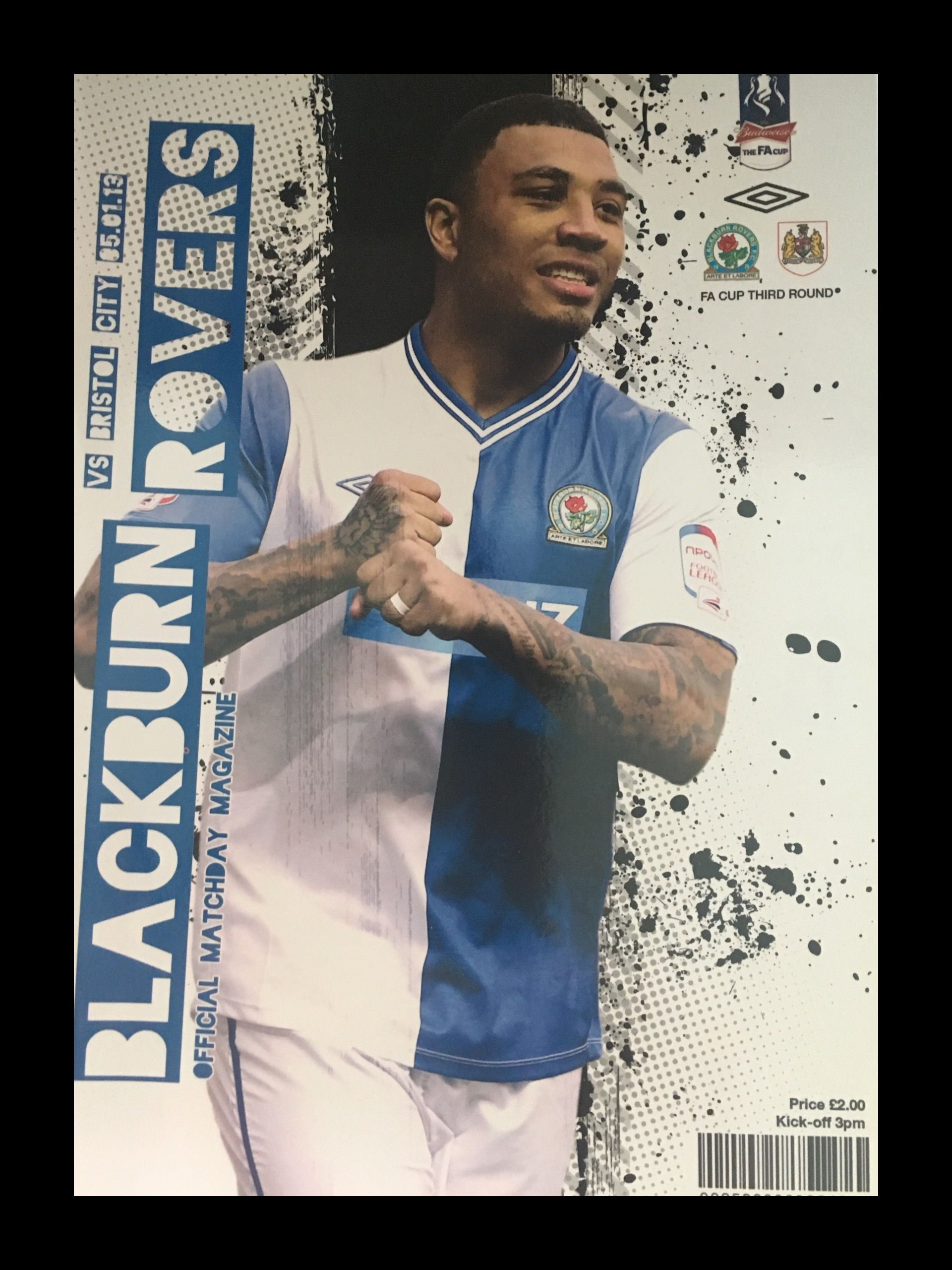 Blackburn Rovers v Bristol City 05-01-2013 Programme