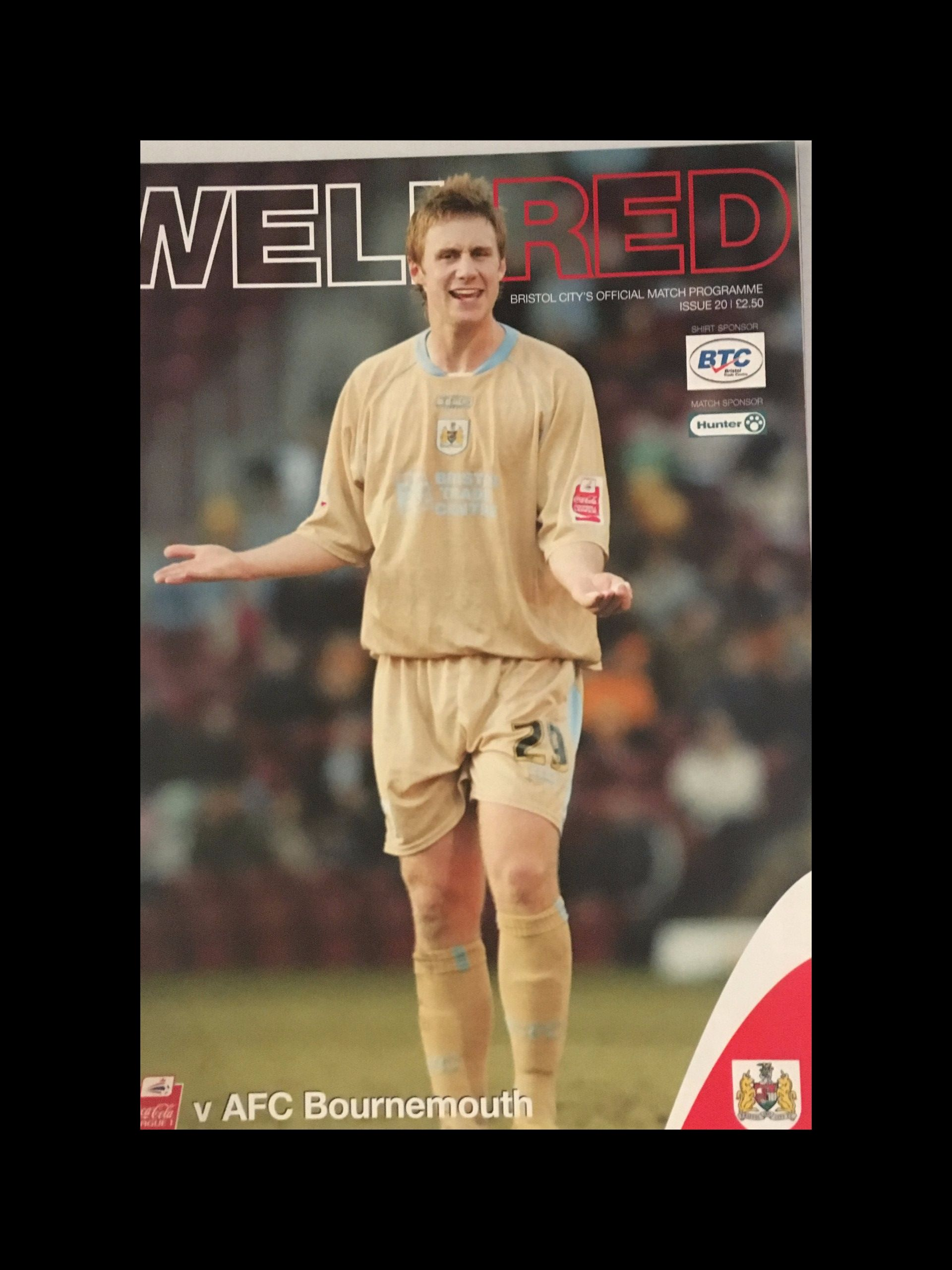 Bristol City v AFC Bournemouth 25-02-2006 Programme