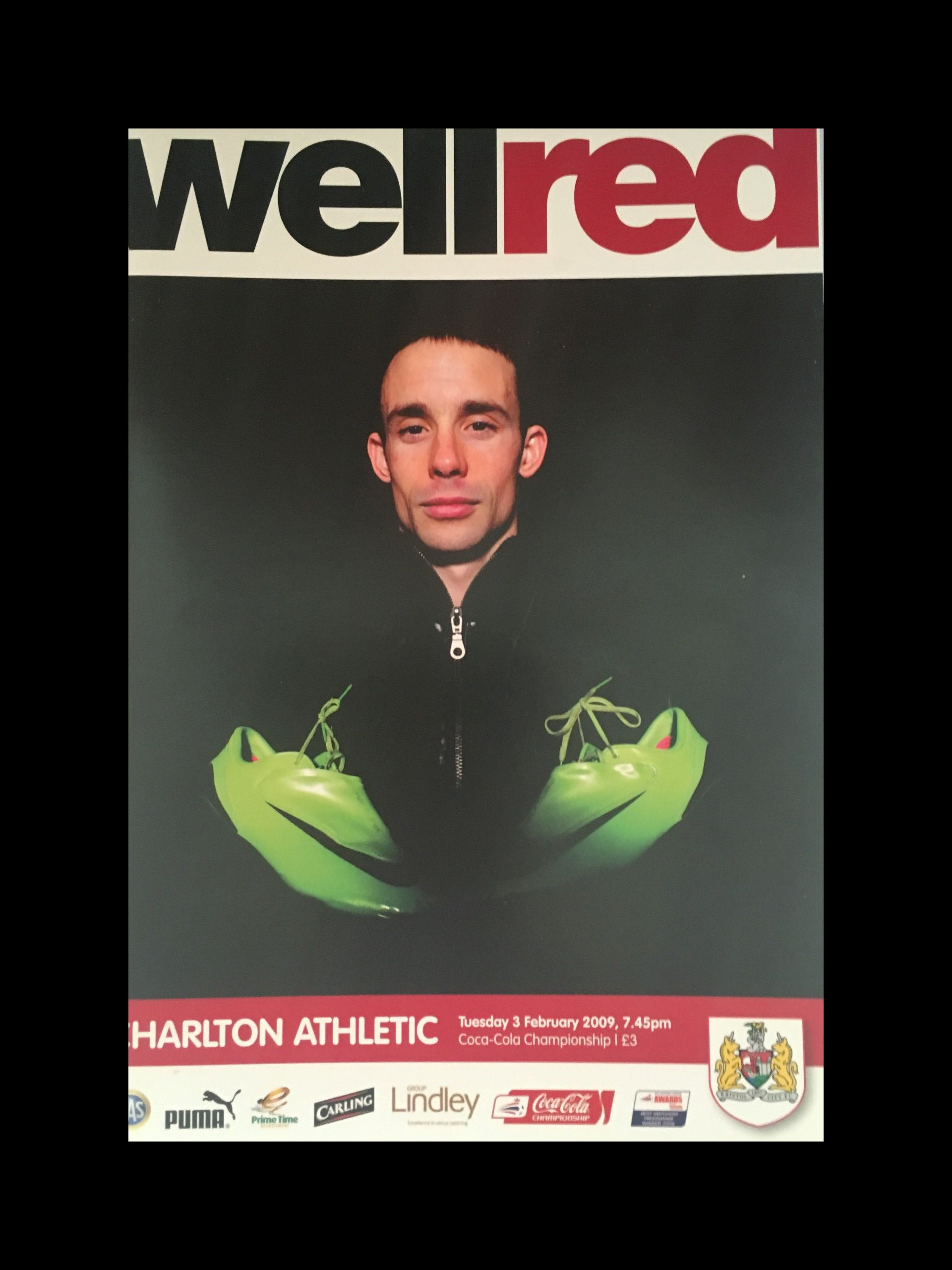 Bristol City v Charlton Athletic 03-02-2009 Programme