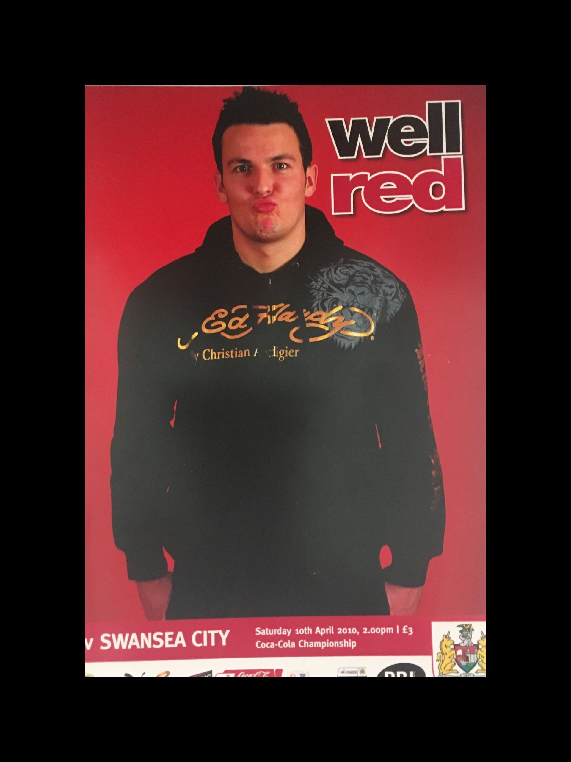 Bristol City v Swansea City 10-04-2010 Programme