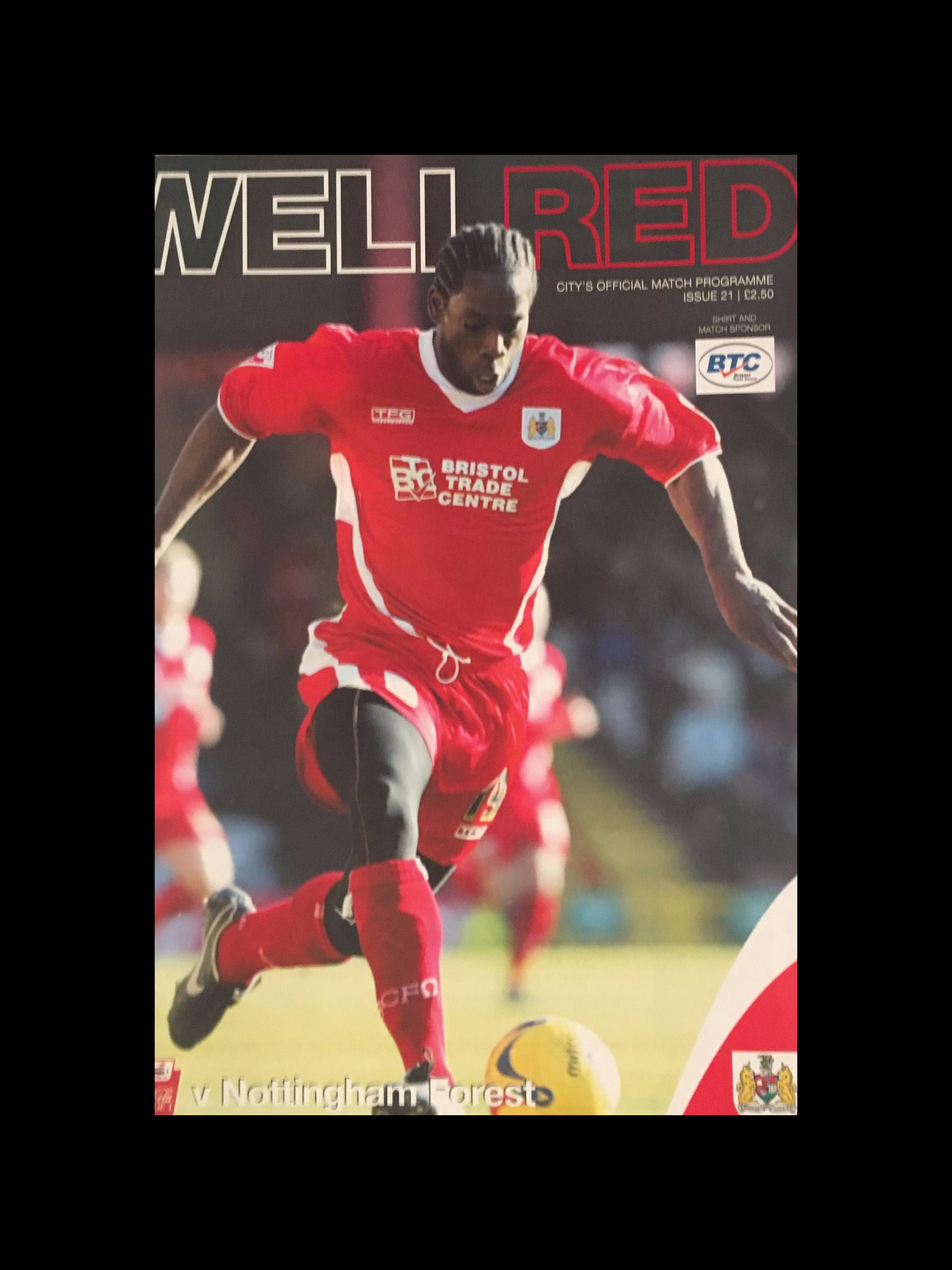Bristol City v Nottingham Forest 04-03-2006 Programme