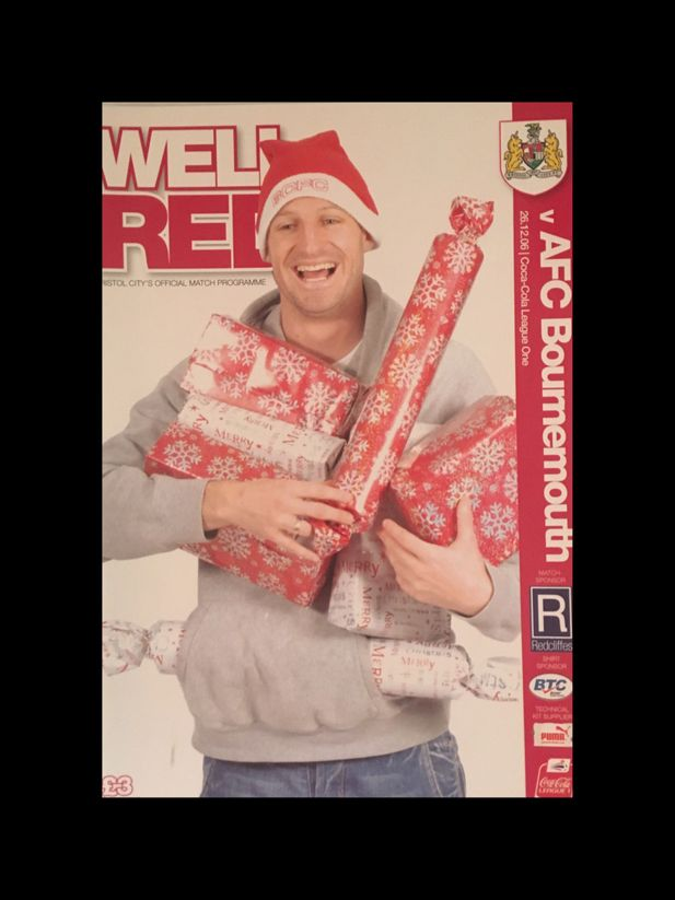 Bristol City v AFC Bournemouth 26-12-2006 Programme
