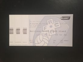 Rotherham United v Bristol City 24-03-2014 Ticket